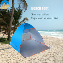 MYJ Instant Pop-up Beach Tent Ultralight Automatic  Anti-mosquito Camping Tent Outdoor UV Sun Protection Shelter automatic camping tent 2 persons beach tent uv protection shelter outdoor tent instant pop up summer tent fishing hiking