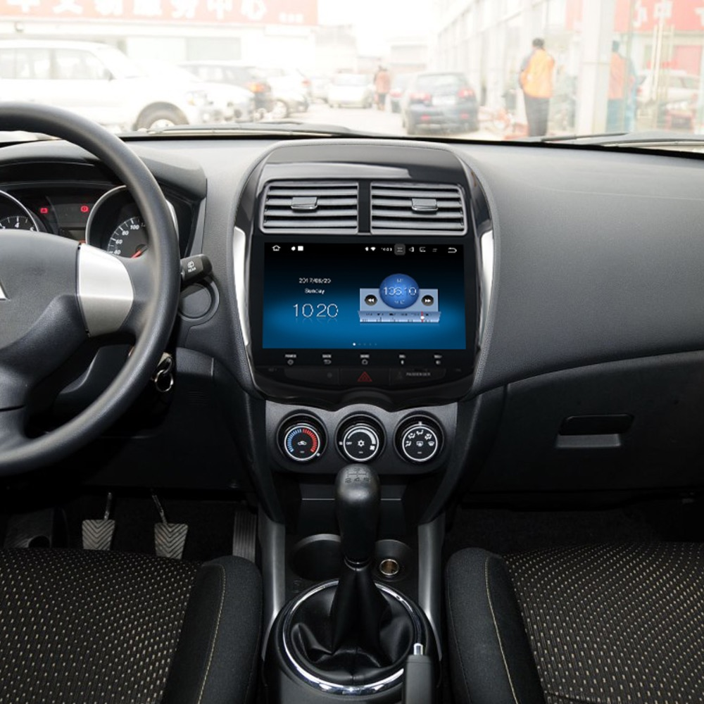 radio android 7 1 gps navi for mitsubishi asx rvr 2010. Black Bedroom Furniture Sets. Home Design Ideas