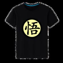 2017 NEW Items Fashion DRAGON BALL Z Son Goku Printed T Shirt Anime Short Sleeve O-neck Cool Black Tops Tee tShirt