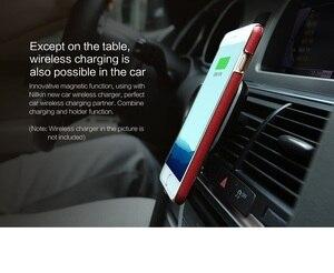 Image 4 - 4,7 zoll Nillkin drahtlose empfänger fall für iphone 7 fall abdeckung Qi drahtlose ladegerät empfänger abdeckung power lade Sender