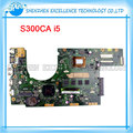 S300ca laptop motherboard para asus s300c rev2.1 intel i5 3337 cpu mainboard 60nb00z0-mbe010