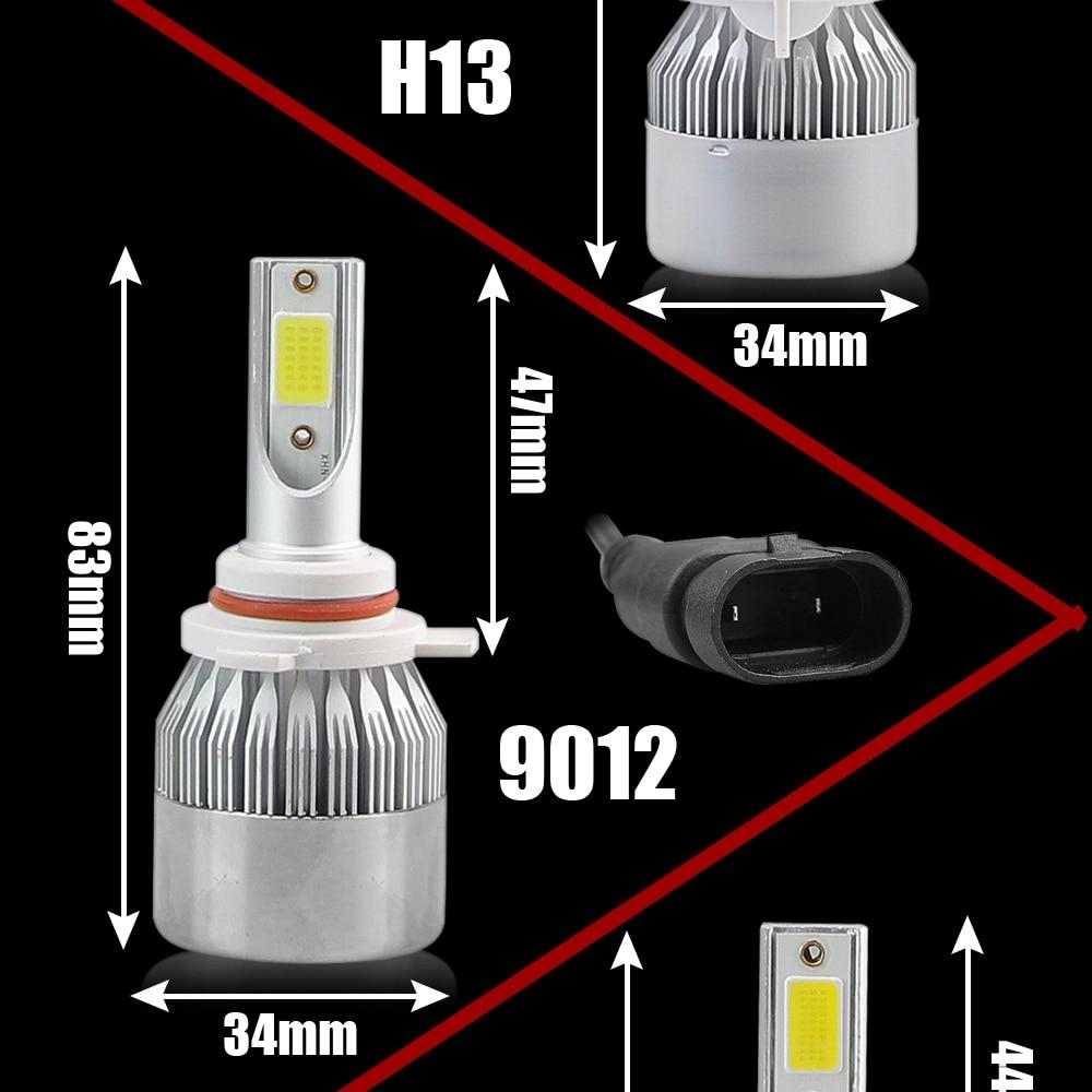 HTB1R1nSPgHqK1RjSZFPq6AwapXaB NEW Arrivals Car Lights Bulbs LED H4 H7 9003 HB2 H11 LED H1 H3 H8 H9 880 9005 9006 H13 9004 9007 Auto Headlights 12V Led Light