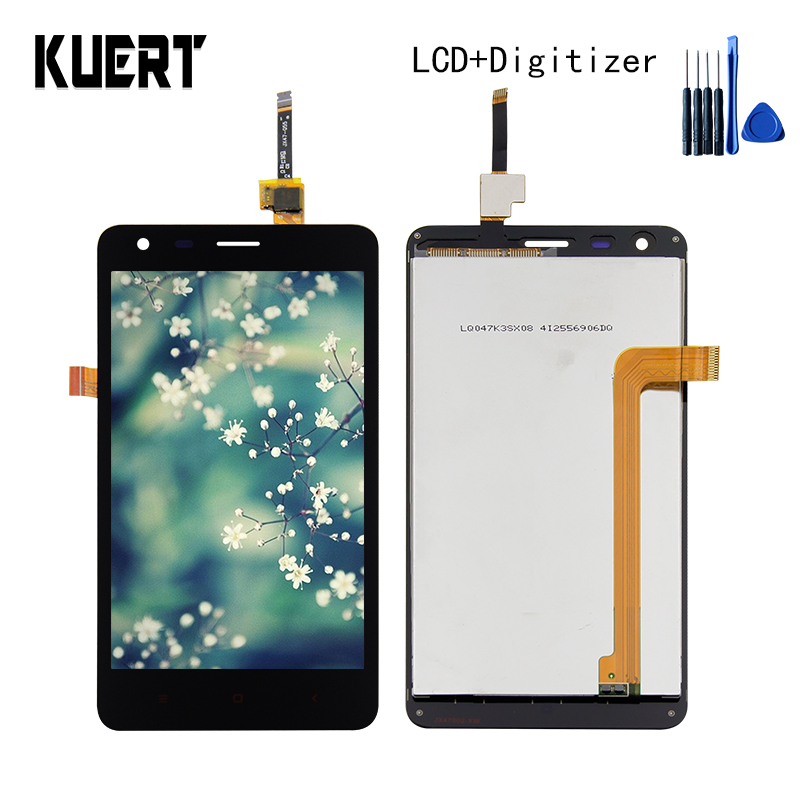 High Quality For Xiaomi Redmi 2 Hongmi 2 Touch Screen Digitizer LCD Display Assembly Repair Part  Free shipping