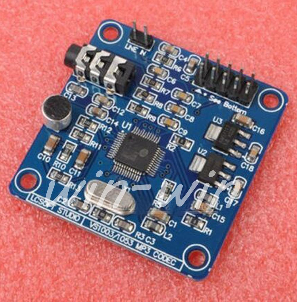 1PCS New VS1053 MP3 Module Development Bard on board recording funcon