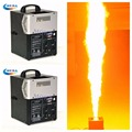 2Pcs/Lot DMX Flalme Machine Fireworks Shooting Stage lpg Flame Projector for Party,Nightclub