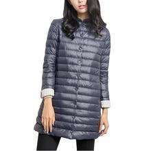 Осень-зима новые теплые пальто мода тонкий Для женщин парки Пальто Повседневное однотонные женские средней длины Стиль теплая верхняя одежда парка feminina