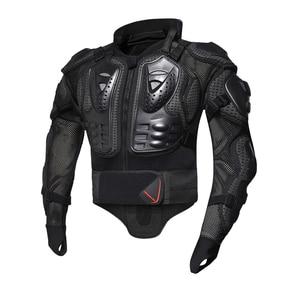 Image 3 - HEROBIKER armadura de protección para motocicleta equipo de protección para Motocross, chaquetas de motos con Protector de cuello