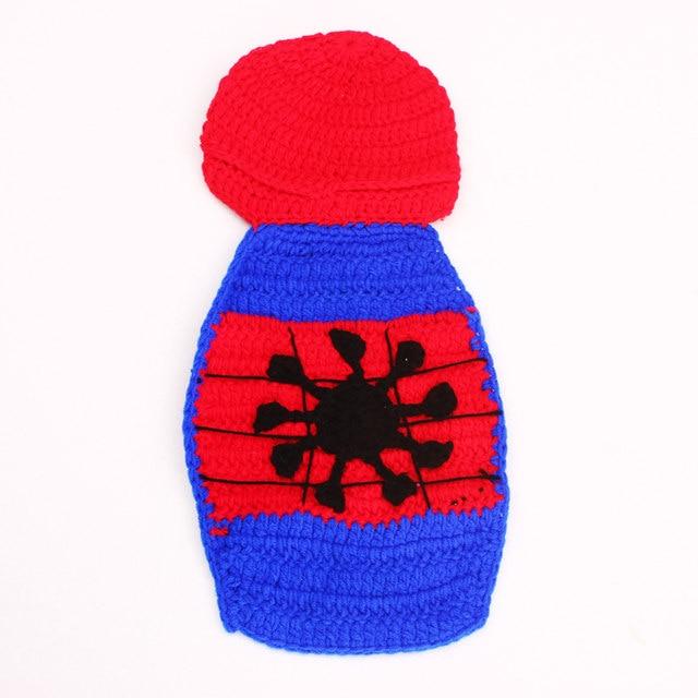 Tienda Online Patrón de ganchillo bebé Spiderman Beanie sombrero con ...