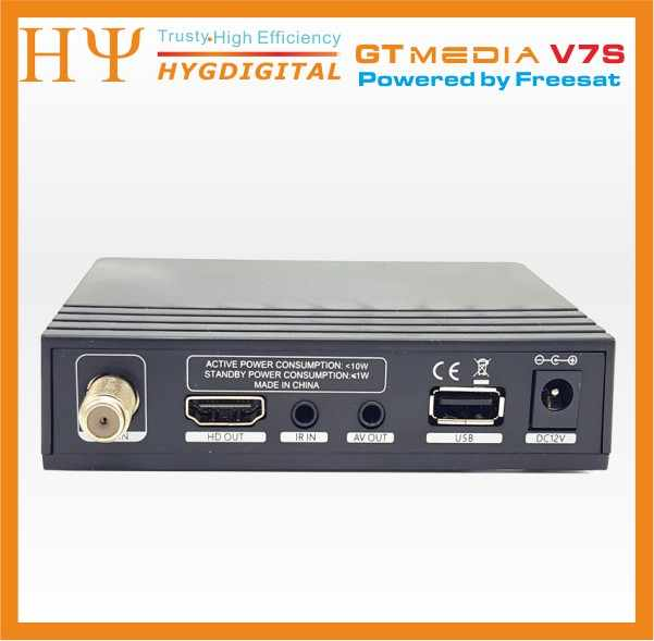 Originale Freesat V7S HD GTMEDIA V7S HD Ricevitore Satellitare 1080P Pieno DVB-S2 HD Supporto Ccaa powervu set top box freesat V7