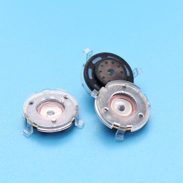 14MM 32 ohm Flat Headphone Drivers Speakers DIY Magnetic Clear HiFi Loudspeakers Audiophile Speakers