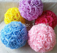 30CM artificial flower ball supermarket decoration wedding supply