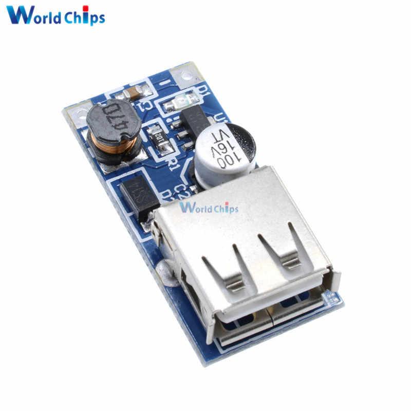 DC-DC USB خطوة المتابعة قوة دفعة وحدة 0.9 فولت-5 فولت إلى 5 فولت 600mA PFM التحكم لوحة تركيبية صغيرة المحمول الداعم