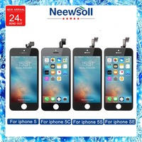 Neewsoll Factory Sale LCD For Iphone5 5c 5s Se Screen Display Part Glass Touch Panel Digitizer