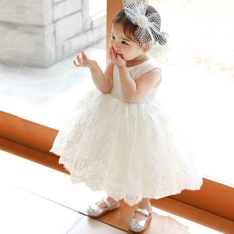 infantil bebe menina vestido de lantejoulas rendas 05