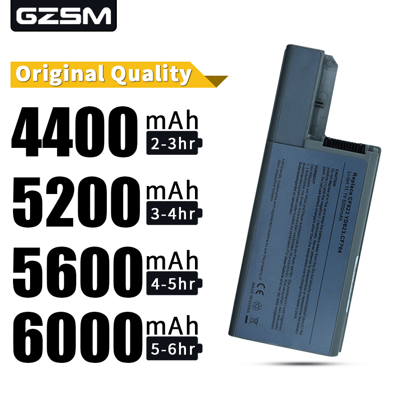 HSW 5200mAh Laptop Battery For Dell Latitude D531 D531N D820 D830 FOR Precision M65 M4300 FOR Workstation YD626 YD624 image