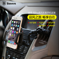 Baseus Universal Mobile Phone Holder Car Air Vent Mount stand Bracket for iPhone 6 plus Samsung Galaxy S6 edge plus for GPS