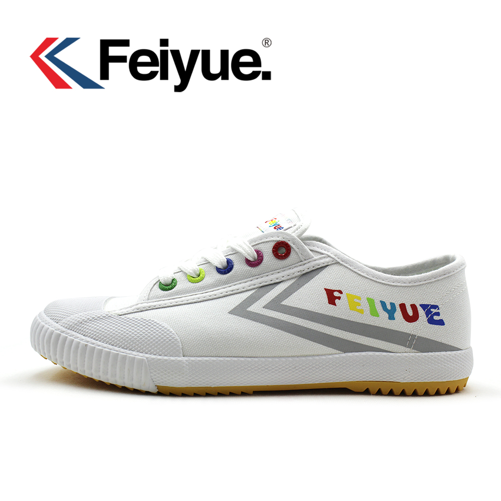 Feiyue shoes French original sneakers Martial arts Taichi Taekwondo Wushu Classic white black KungFu women men white shoes цены онлайн