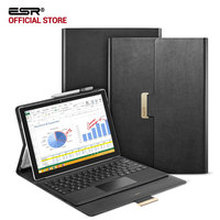 ESR Intelligent Series Business Style PU Leather Built In Stand With Multiple Viewing Angles Folio Stand
