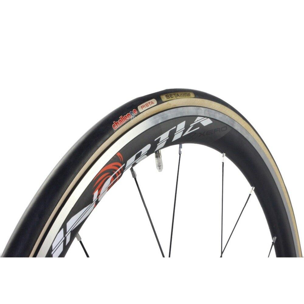 bike bicycl track tyre tire Challenge Black Tubulars 28 ...