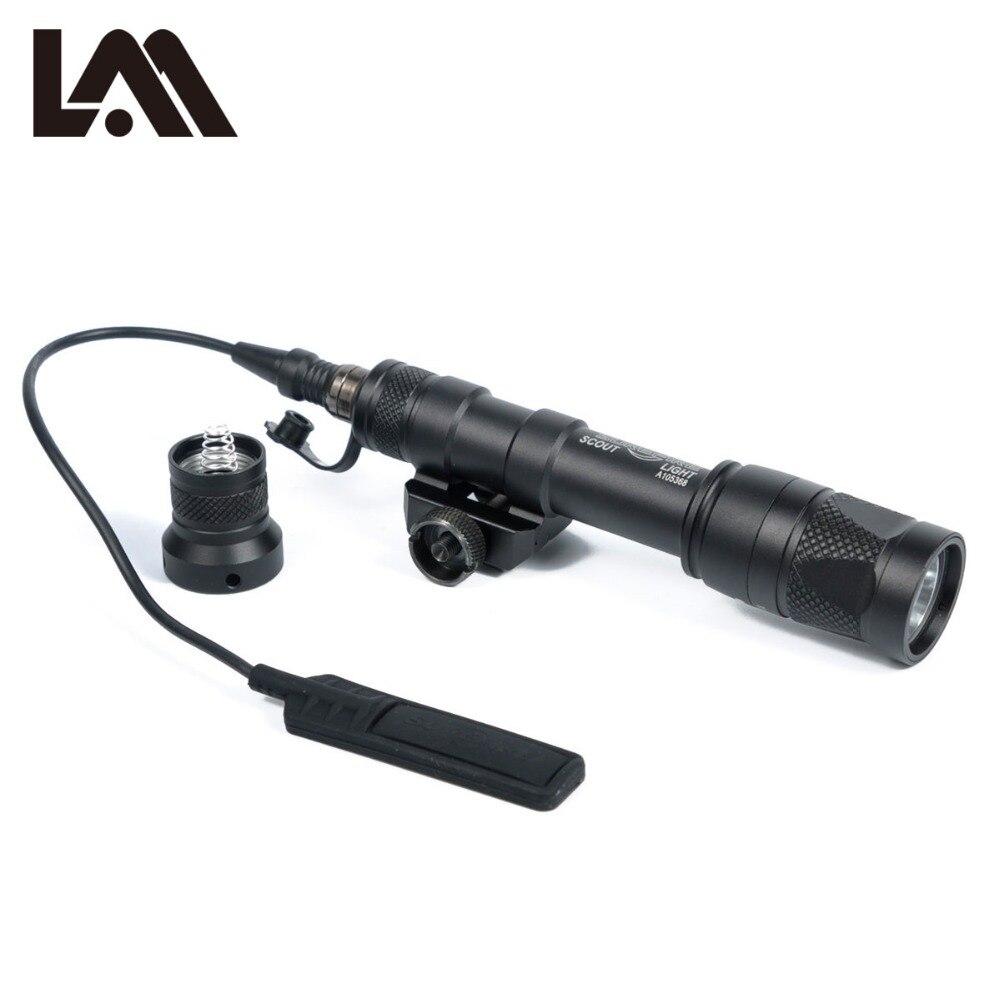 LAMBUL M600V ИК свет Scout NV Охота Night Evolution светодиодный фонарик Armas Тактический Инфракрасный оружие Свет для спорта на открытом воздухе