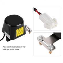 G1/2 elektrikli otomatik manipülatör kapatma valfi yüksek basınçlı hidrolik vana alarmı gaz su boru hattı güvenlik cihazı
