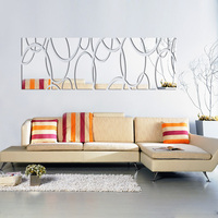 2015 New 3d Wall Stickers Real Promotion Hot Sale Living Home Decoration Modern Still Life House