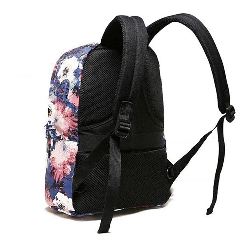 USB charging Women Backpacks For Teenage Girls Mommy Computer Travel Luggage Laptop Fashion Backpack Bagpack Mochilas Schoolbag