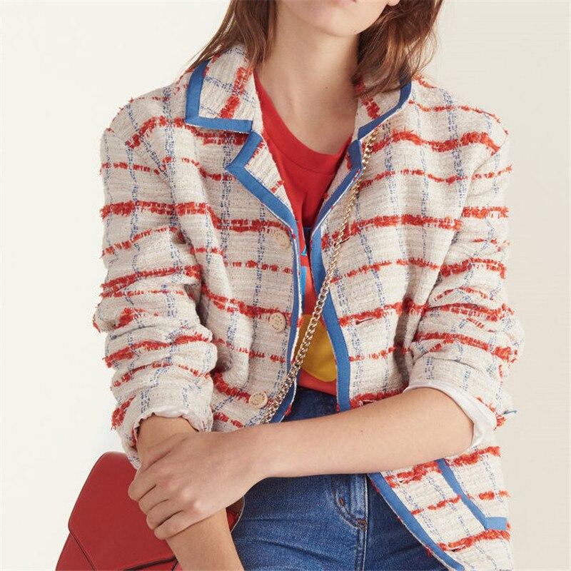 Veste femme printemps 2019 สบายๆสไตล์ผู้หญิงแจ็คเก็ต Denim แจ็คเก็ตและ Coats veste femme manteau-ใน แจ็กเก็ตแบบเบสิก จาก เสื้อผ้าสตรี บน   2
