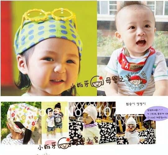 Promotion! 20pcs/lot BANDANA BIBS, FUNKY DRIBBLE CATCHER DRYBIBS- BABY BIBS cheap wholesale free shipping 740001