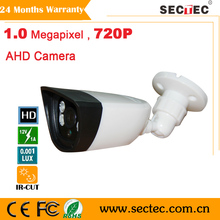 Free shipping new 1.0 M 720P AHD camera indoor Security system plastic IR Camera with 3.6mm 3MP Lens 4pcs dot IR leds, OSD