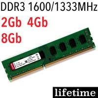 DDR3 RAM 4Gb KVR Memory 16Gb 8Gb 4Gb 2Gb 1600Mhz 1333Mhz For Intel Memoria Ddr3 1600