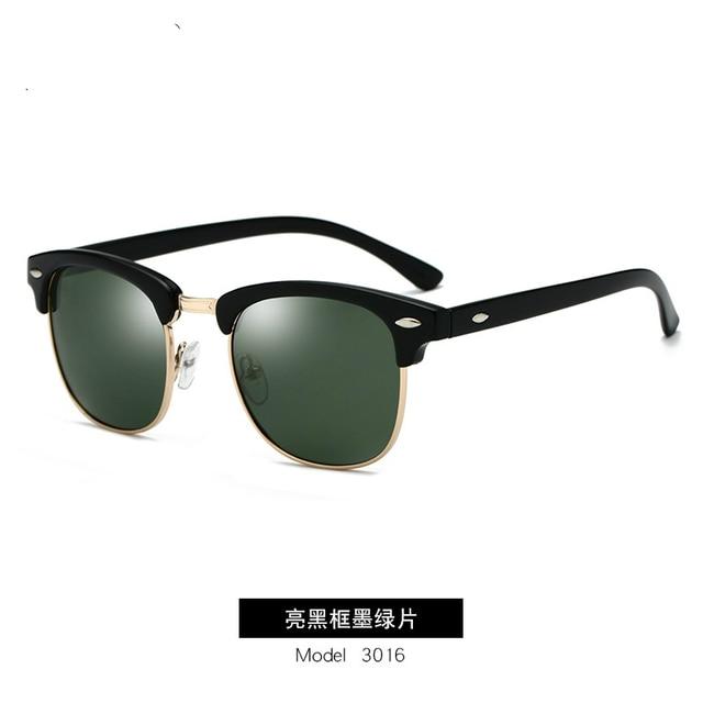 GUANGDU-Gafas de sol polarizadas para hombre y mujer, lentes de sol con marco de policarbonato tipo ojo de gato, de estilo clásico, protección UV400, modelo RB3016 3