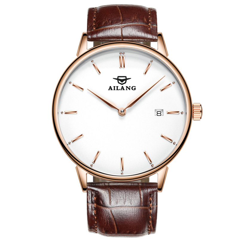 Men Simple Casual Business Watches Ultra Thin Mens Automatic Mechanical Watch Male Leather Clock Wristwatches Relogio Masculino дорожка 900 2000мм