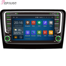 Quad Core Android 5.1 Car DVD Radio For SKODA Rapid 2013- With 16 GB Flash Mirror Link Wifi BT GPS Free Map