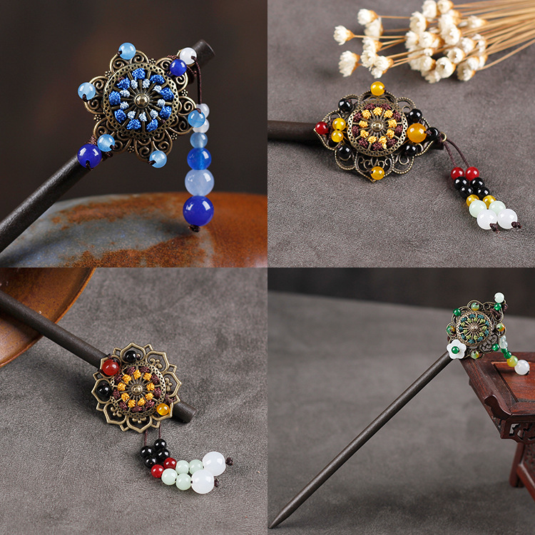 Vintage Chinese Jewelry Hairpin 1