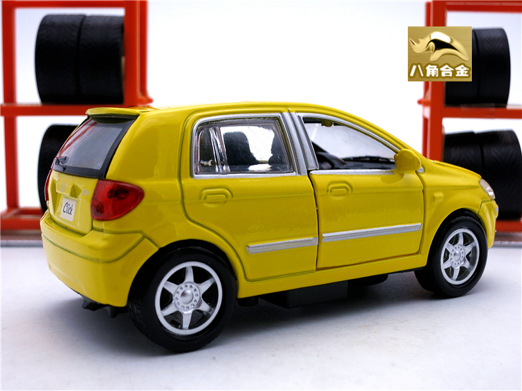 11cm Length Diecast Hyundai Getz Click Model Kids Toys Cars Boys