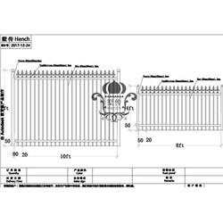 Hench 100% ręcznie kute niestandardowe projekty ogrodzenie stalowe dostawca|Ogrodzenia  treliaż i bramy|   -