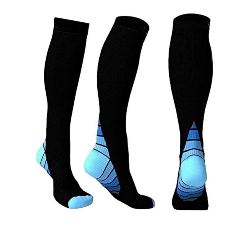 Men Professional Compression Socks Breathable Travel Activities Fit For Nurses Shin Splints Flight Trave