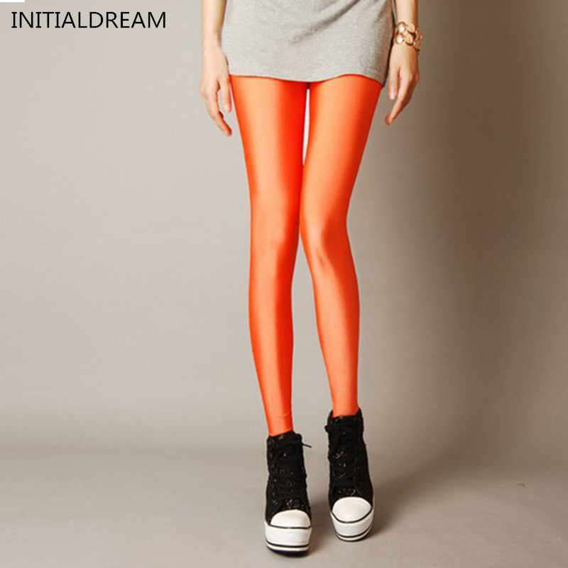 2017 Multiple Color Neon Leggings Adventure Time casual female Pant Legging Fashion slim high Elatisc women