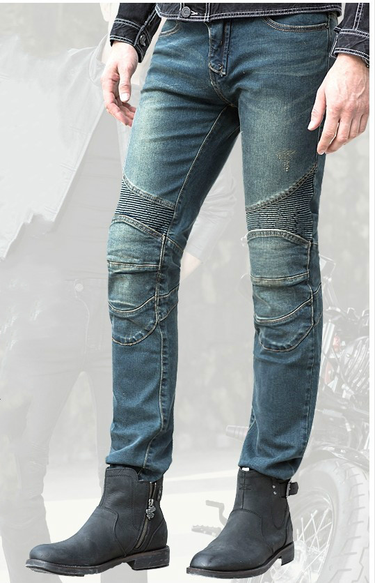 uglyBROS Featherbed UBS02 jeans Ride jeans fashion cultivate one s morality Motorcycle ride jeans