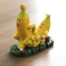 Николь Силиконовые Мыло Свеча Плесень 3D секс банан форма DIY Handmad плесень