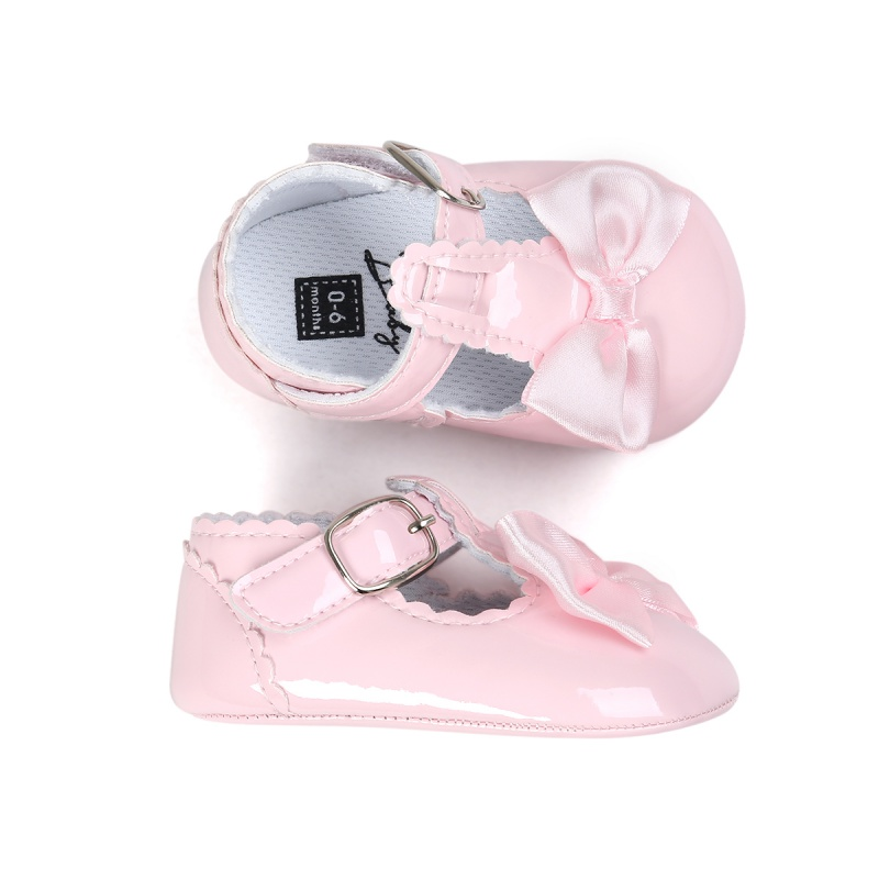 17 Fashion Kids Baby Girls Newborn Shoes PU Leather First Walkers Boots Cute Non-slip Shoes 8