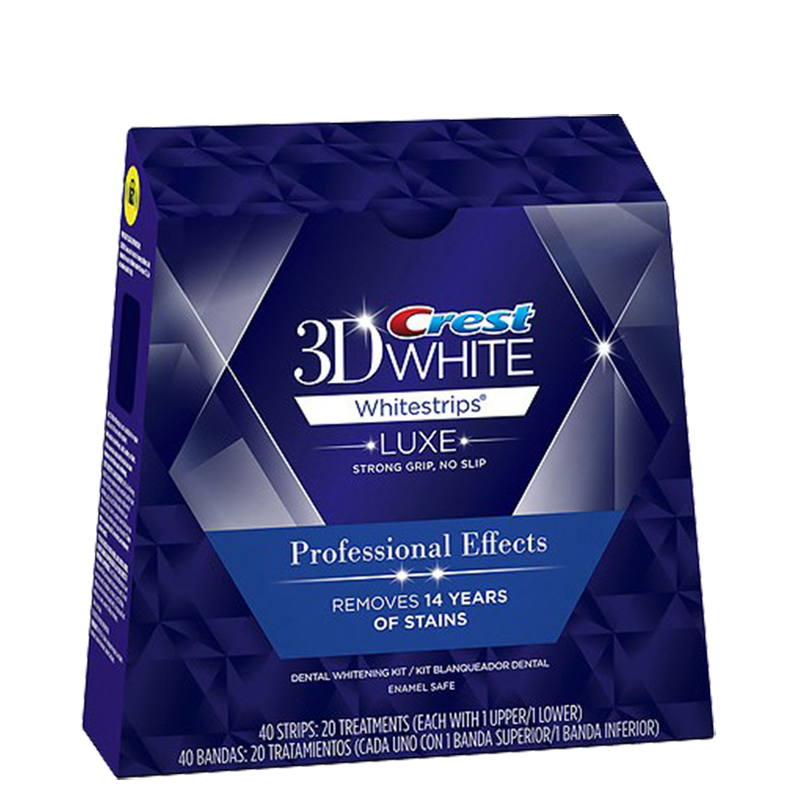 Crest 3D White LUXE Whitestrips Teeth Whitening Professional Effects Toothpaste for Adult Combination 6 selections pro teeth whitening oral irrigator electric teeth cleaning machine irrigador dental water flosser teeth care tools m2
