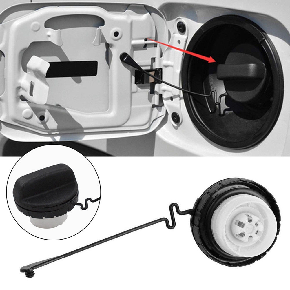 Gas Cap w// TETHER for Fuel Tank for JEEP