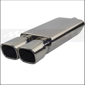 자동차 액세서리 배기 파이프 머플러 광택 304 스테인레스 스틸 소음기 메르세데스-벤츠 BMW 혼다 모터 머플러