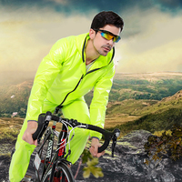 Sports Suits Bike Bicycle Waterproof Raincoat Poncho Women Cycling Portable Mens Boys Rain Coats Rain Gear Fashion Women LZO120