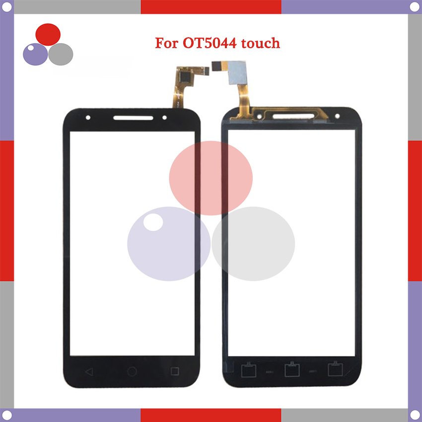 High Quality 5.0''For <font><b>Alcatel</b></font> OneTouch U8 OT5044 5044D 5044I 5044Y <font><b>5044T</b></font> Touch Panel Glass Front Glass Lens Screen image