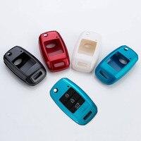 Free Shipp For Kia K3 Sorento Sportager Carens Car Styling Cover Detector ABS Paint Keys Bag