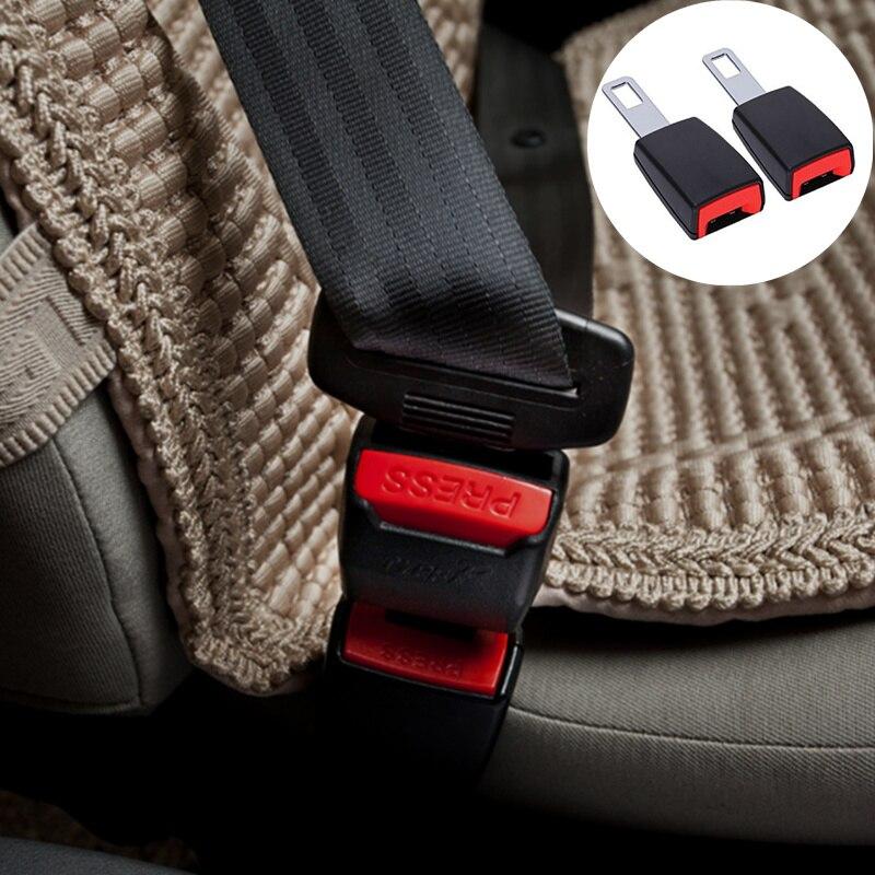 *BLACK* AUDI Q1//Q3//Q5//Q7 SEAT BELT ALARM BUCKLE KEY CLIP SAFETY CLASP STOP