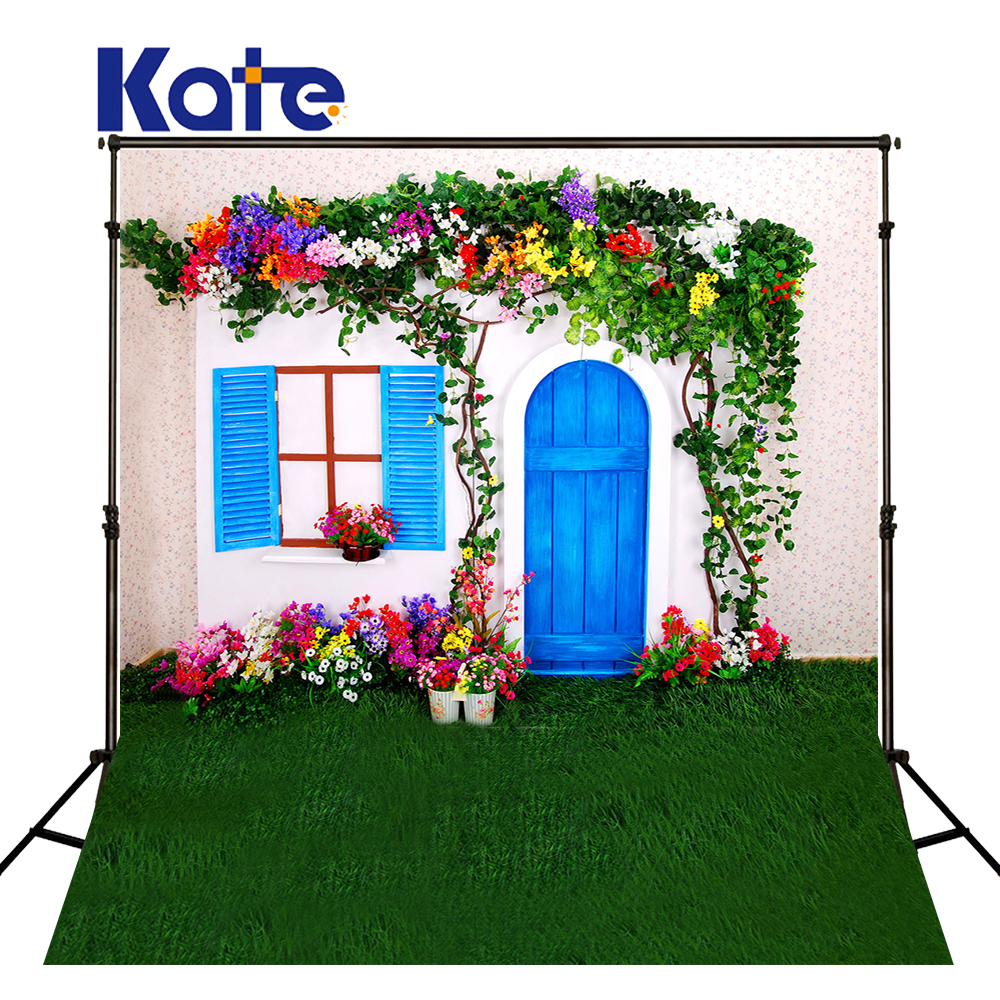 300Cm*200Cm(About 10Ft*6.5Ft) Backgrounds Hang Flowers And Flowers In Full Bloom Photography Backdrops Photo Lk 1539 200cm 150cm backgrounds large family backyard garden flowers form dense growth arches childr photography backdrops photo lk 1062